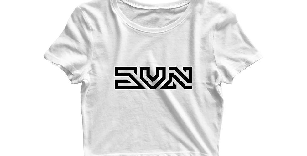 SVN cropped shirt white