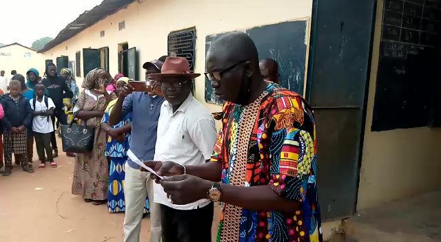 Ziguinchor/Ecole Lieutenant Aliou Badara Diallo/Proclamation des Résultats du Premier Essai.