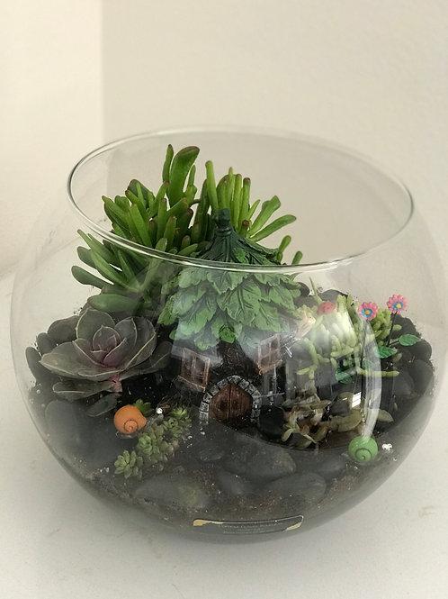Glass Bowl Arrangement