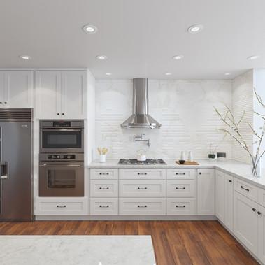 Shaker White Cabinet