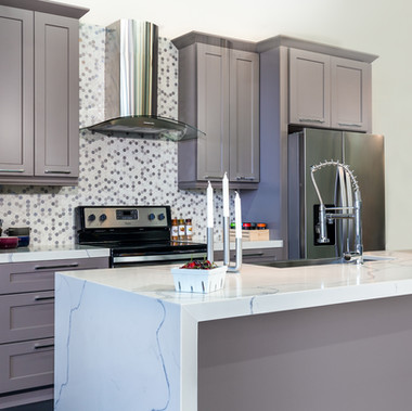 Shaker Gray Cabinet