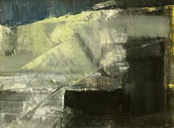black & yellow abstract