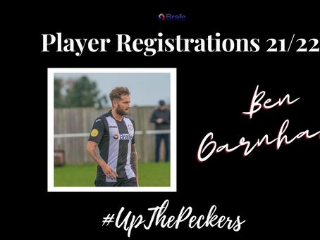 Ben Garnham Re-Signs