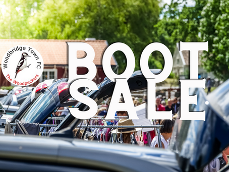 Bank Holiday Boot Sale
