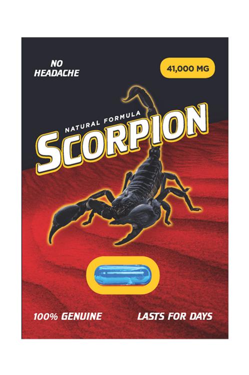 Scorpion Natural Formula - 1 tabet