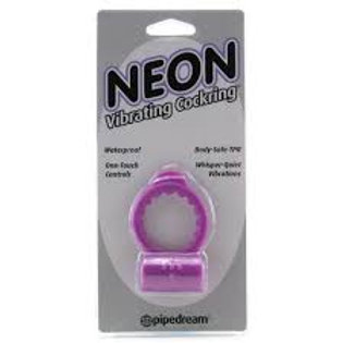 Neon Vibrating Cock Ring