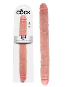 """King Cock 16"""" Thick Double Dick"""