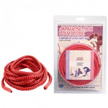 Japanese Silk Love Rope -BLACK