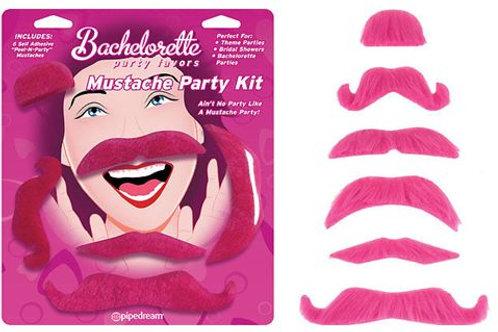 Bachelorette - Mustache Party Kit