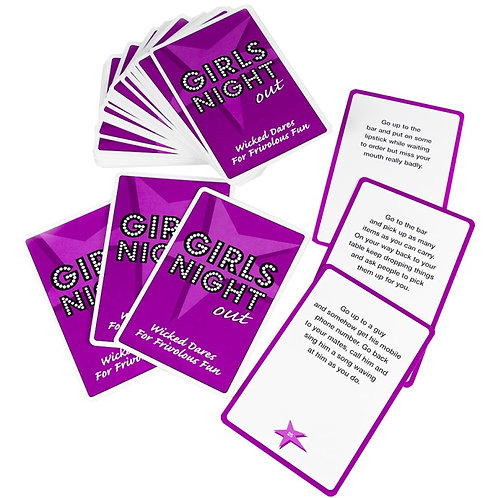 Girls Night Out - Dare Cards