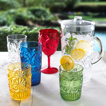 Product Photography Outdoor Glassware