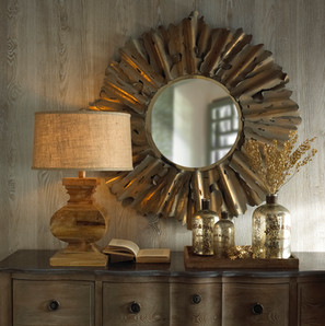 Product Photography Mirror Lamp Jars
