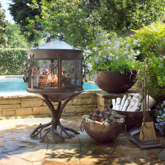 Outdoor Furniture Photography Firepit