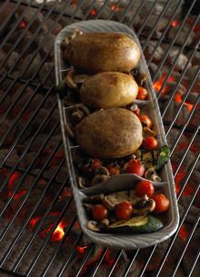 Food Photography BBQ Potatoes