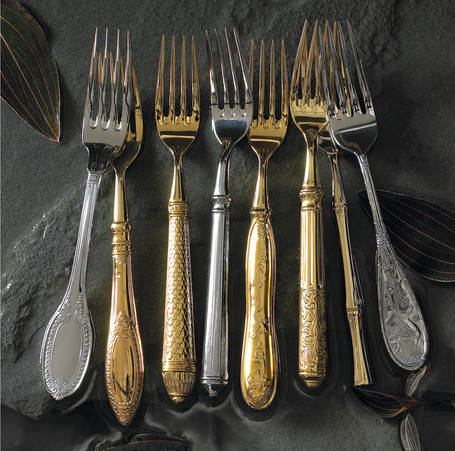 Product Photography Forks Silverware