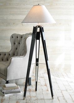 Furniture Photographer Tripod Lamp