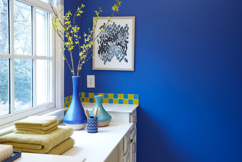 Product Photography Blue Vases