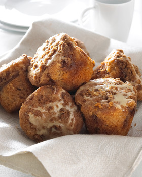 Food Photography Cinnamon Muffins