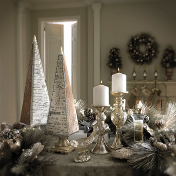 Product Photography Christmas Silver