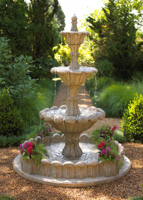 Outdoor Furniture Photography Fountain