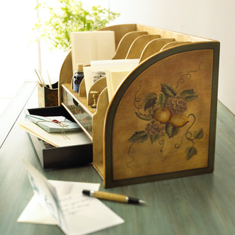 Product Photography Letter Organizer