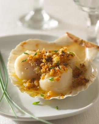 Food Photography Scallops Seafood