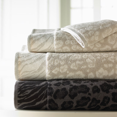 Product Photography Leopard Print Towels