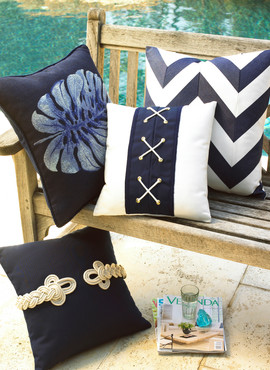 Outdoor Furniture Pillows Photography
