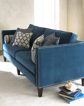 Furniture Photographer Blue Sofa