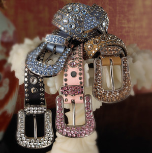 Product Photography Jeweled Belts