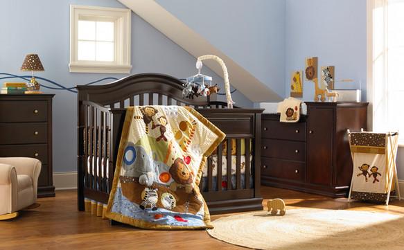 Baby Furniture Crib Changing Table