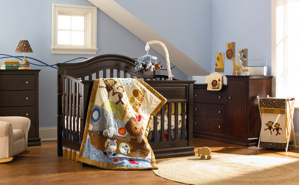 Baby Furniture Crib Changing Table