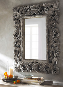 Product Photography Carved Mirror