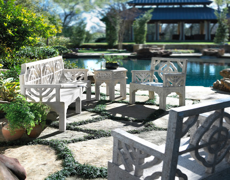 Outdoor Furniture Photography Benches