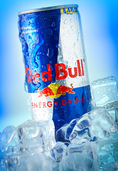 Food Photography Red Bull Can