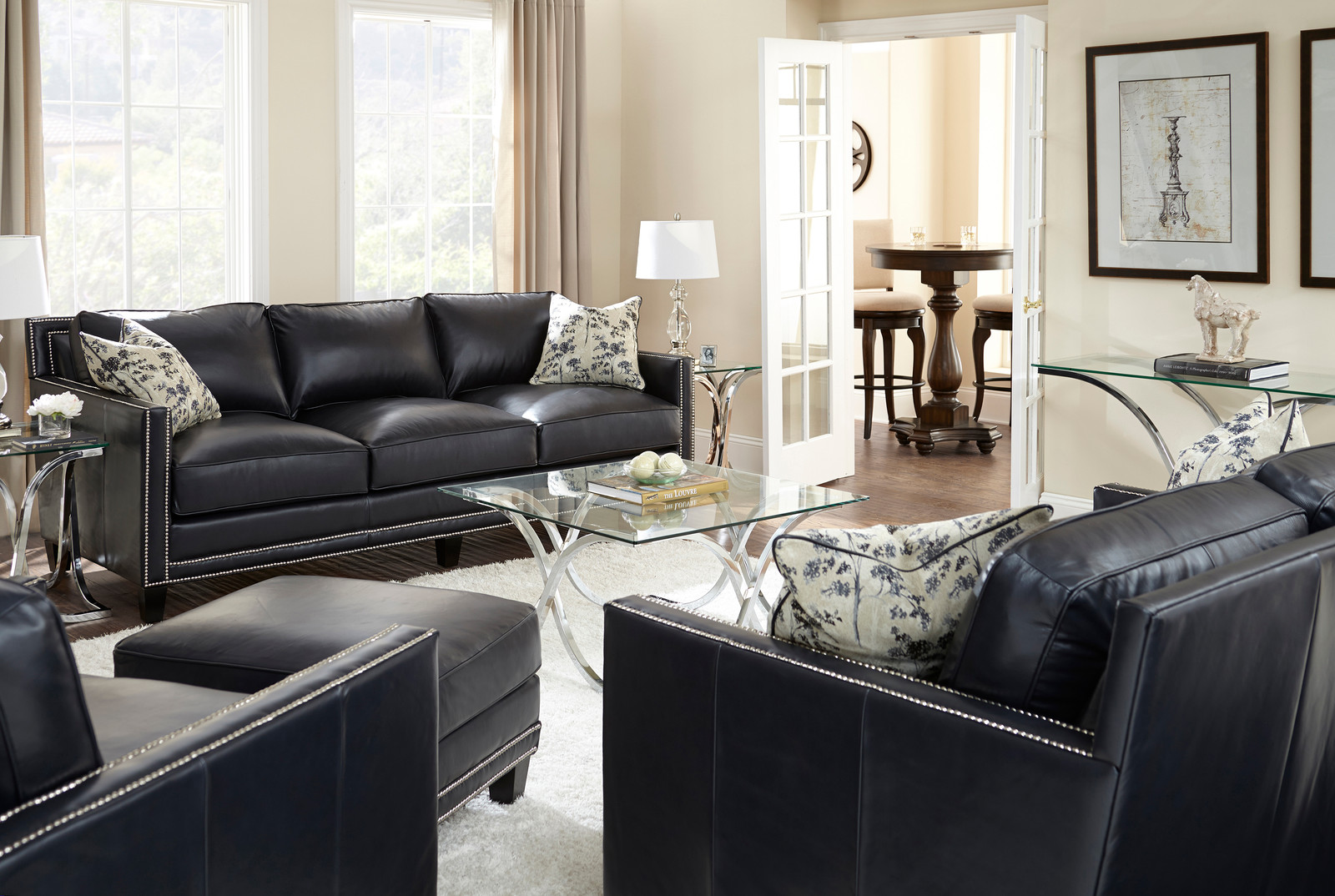 Furniture Photography Leather Sofas
