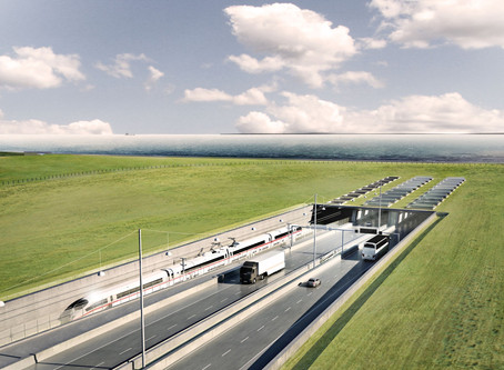 The World's Longest Immersed Tunnel Will Connect Germany & Denmark — and Make Trips So Much Shorter