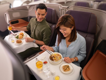 Singapore Airlines launches pop-up A380 dining experience