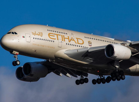 Etihad makes history with the first commercial passenger flight from a GCC nation to Israel