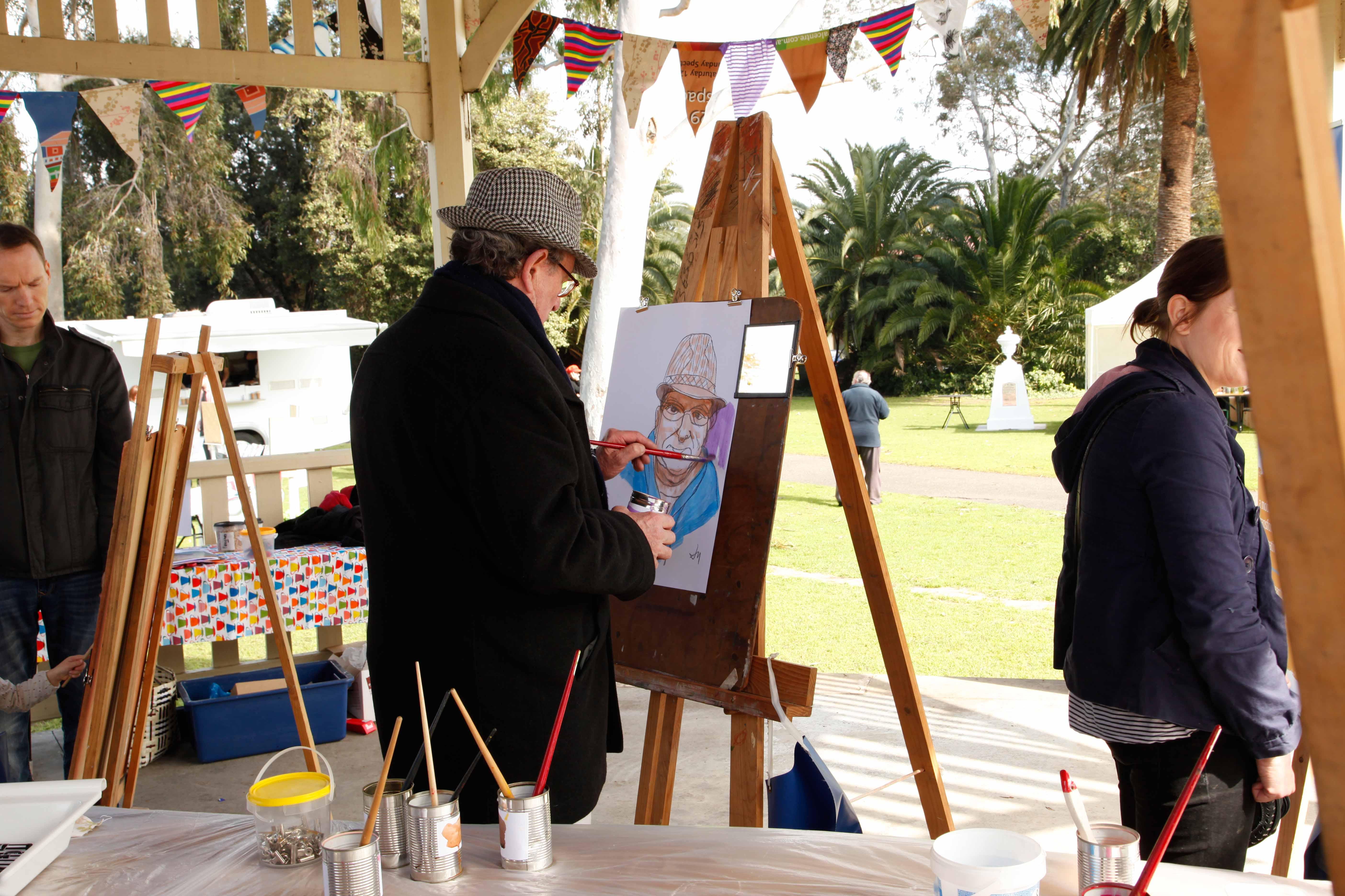 Jeff Harris painting