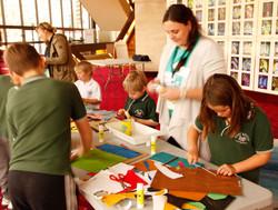 Collage Me workshop participants