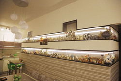 Decorative plaster niches