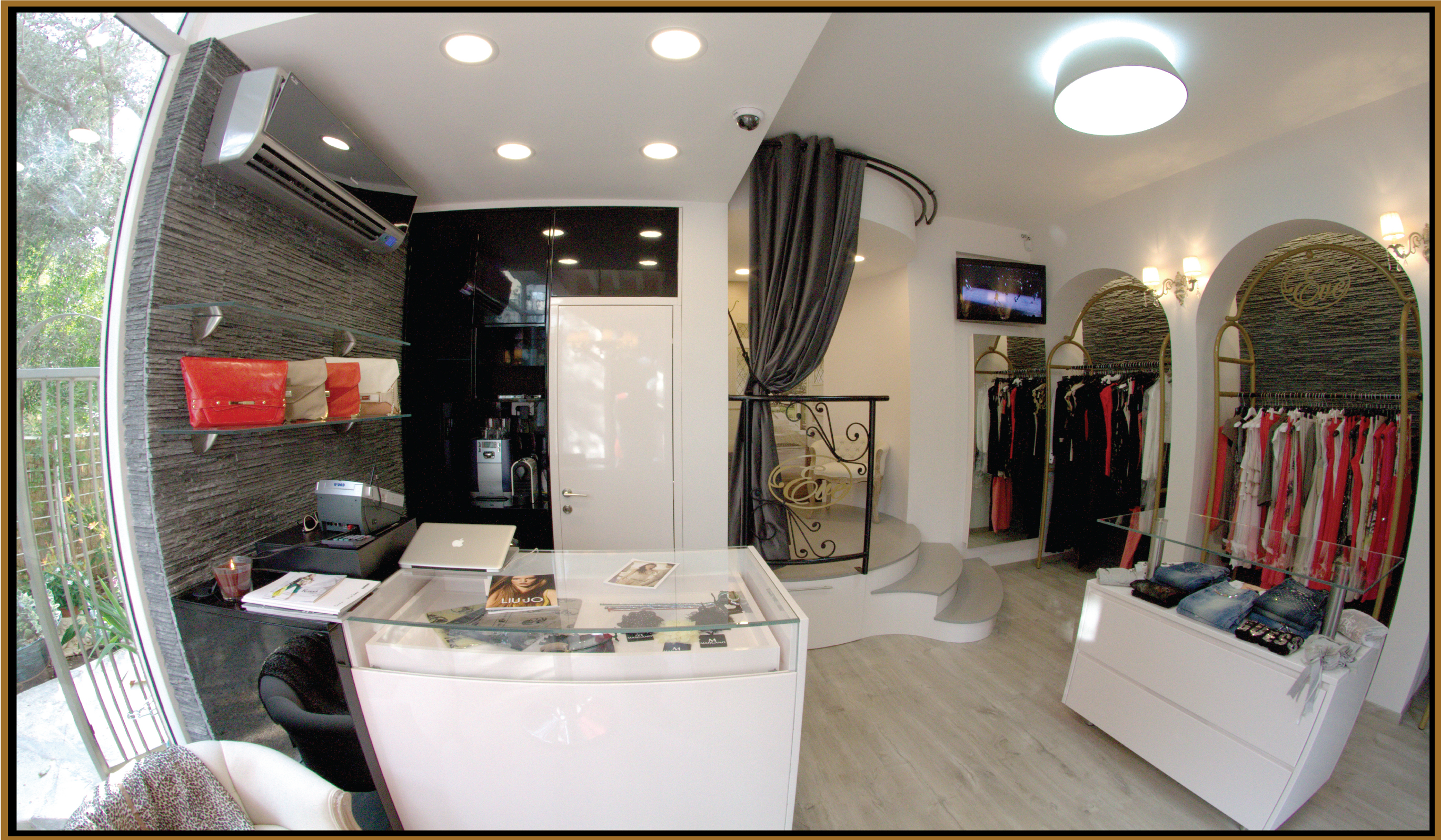 Boutique interior design