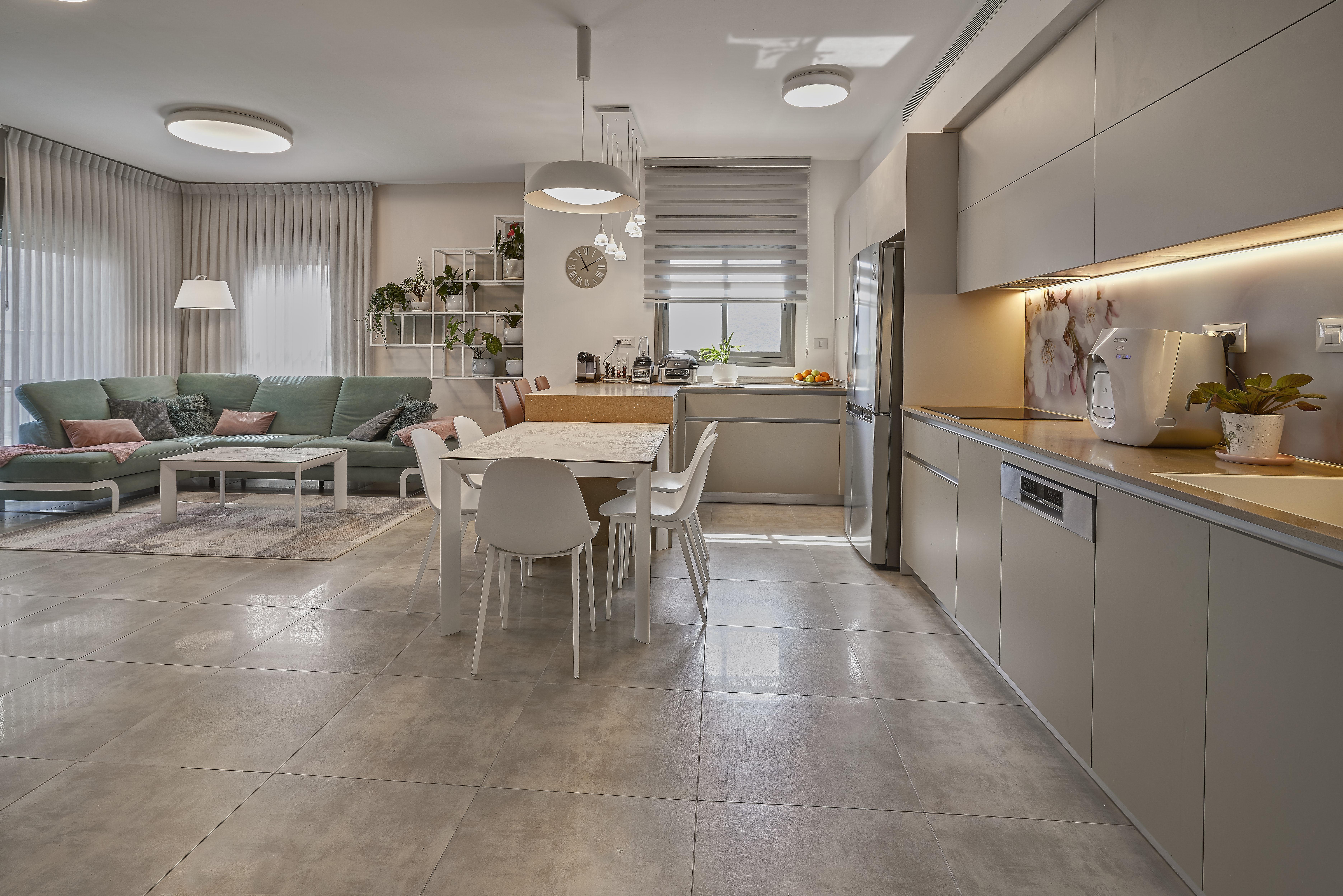 Living Room and Kitchen Design, עיצוב מטבח וסלון
