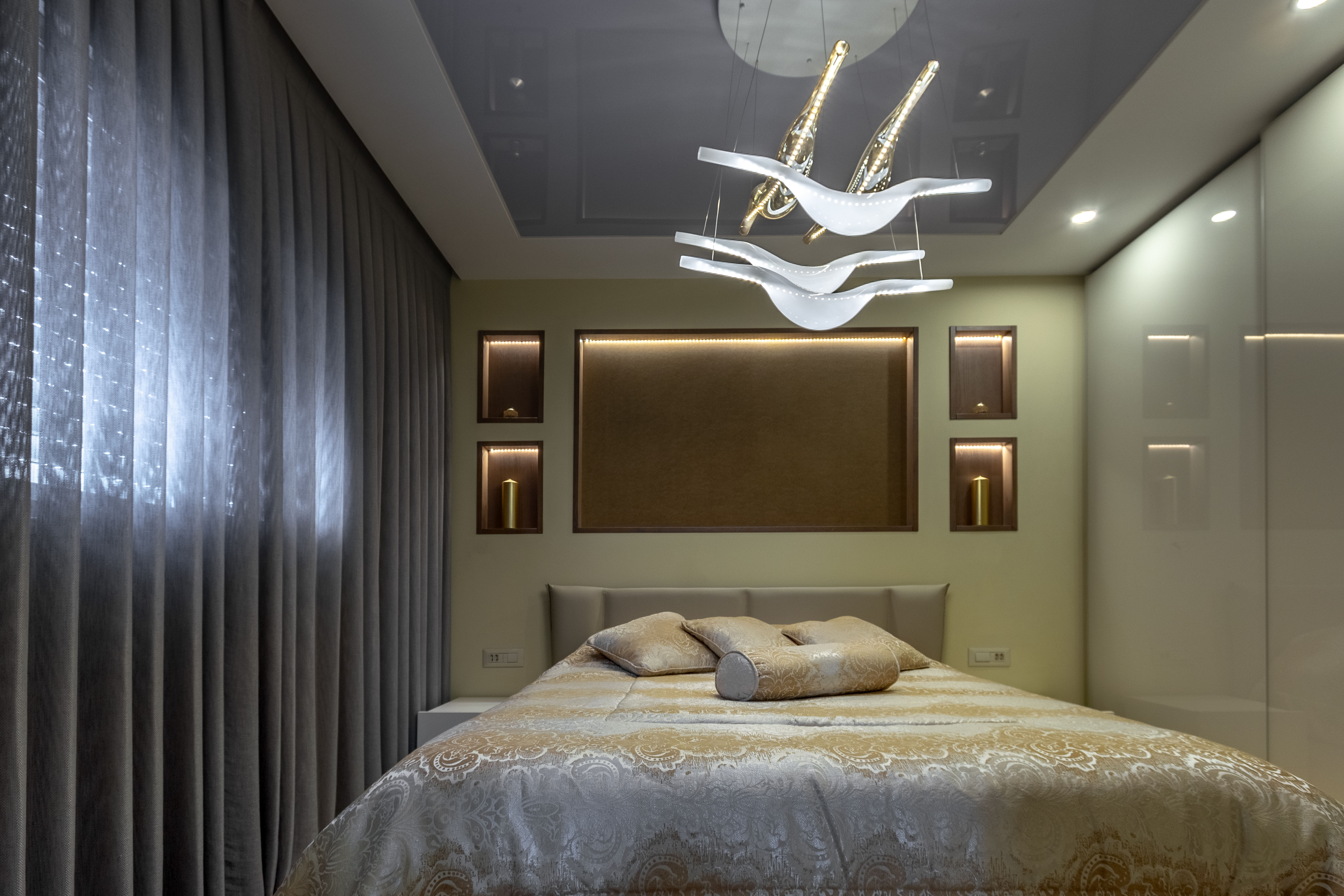Bedroom atmosphere design
