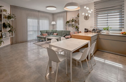 Living Room and Kitchen, עיצוב סלון ומטבח