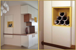 Dice shelves
