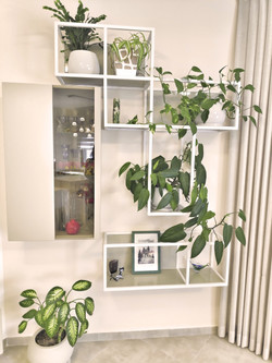 Bar and decorative shelves, בר ומדפים דקורטיביים