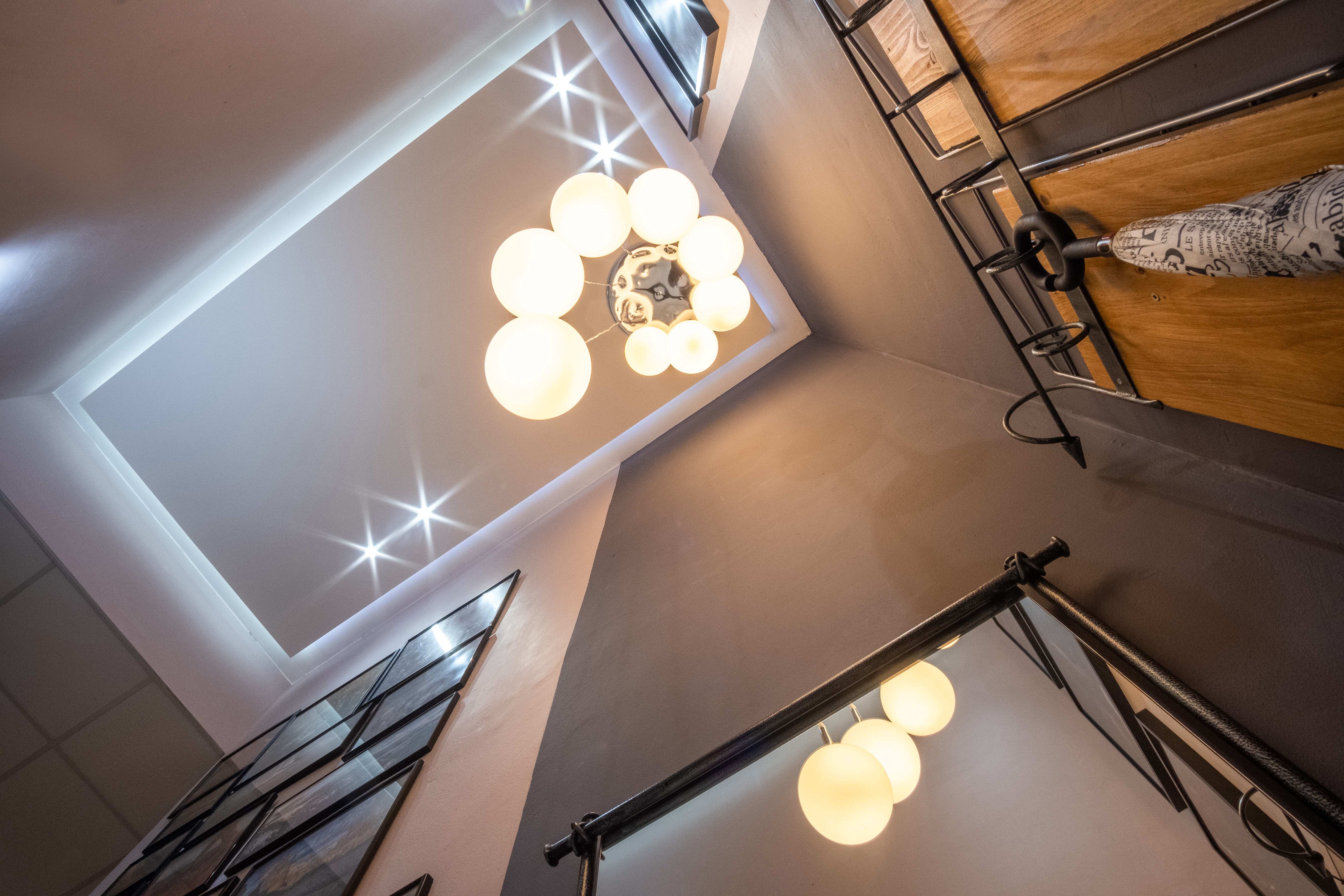 Staircase lighting design