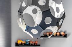 Decorative lamp in Kids room
